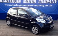 USED 2008 08 CITROEN C1 1.0 CODE 5d 68 BHP RARE METALLIC BLACK CITROEN C1 CODE 1.0 5 DOOR MANUAL 1/2 LEATHER AND SUEDE INTERIOR CHROME PACK ALLOYS ELECTRIC WINDOWS ONLY £20 TAX A YEAR HIGH LEVEL REV COUNTER CD WITH AUX 2 KEYS ONLY 2 PRIVATE OWNERS