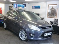 USED 2012 62 FORD C-MAX 1.6 TITANIUM TDCI 5d 114 BHP NOW £7499 Saving £500 and get £500 Minimum part exchange allowance against this car to leave a balance after Minimum allowance of ONLY £6999