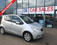 USED 2010 10 VAUXHALL AGILA 1.2 DESIGN 5d 85 BHP £0 DEPOSIT, LOW RATE FINANCE ANYONE, DRIVE AWAY TODAY!!