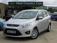 USED 2012 d FORD GRAND C-MAX 2.0 GRAND TITANIUM TDCI 5d 138 BHP High Spec Family MPV