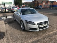 USED 2010 10 AUDI TT 2.0 TFSI S LINE 3d 197 BHP 1 FORMER KEEPER-SERVICE HISTORY-1/2 LEATHER HEATED SEATS