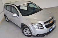 USED 2013 63 CHEVROLET ORLANDO 2.0 LT VCDI 5d AUTO 163 BHP