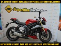 USED 2015 15 TRIUMPH STREET TRIPLE 675 GOOD & BAD CREDIT ACCEPTED, OVER 500+ BIKES IN STOCK