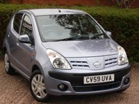 USED 2009 59 NISSAN PIXO 1.0 N-TEC 5d 67 BHP NEED FINANCE ?  POOR CREDIT WE CAN HELP! JUST ASK ! CLICK THE LINK AND APPLY 24/7! PERFECT 1ST CAR VERY LOW MILEAGE!!