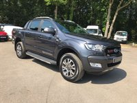 USED 2018 18 FORD RANGER WILDTRAK 3.2 AUTOMATIC  Delivery Mileage, Pre-Registered, Ready To Go