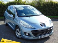 USED 2011 11 PEUGEOT 207 1.4 ENVY 3d * 128 POINT AA INSPECTED *