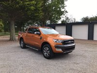 USED 2017 67 FORD RANGER WILDTRAK 3.2 AUTOMATIC  Delivery Mileage, Pre-Registered, Ready To Go