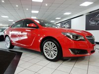 USED 2015 15 VAUXHALL INSIGNIA 1.8 DESIGN 140 BHP 1 FORMER VAUXHALL HISTORY 18'S