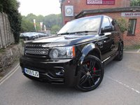 2009 LAND ROVER RANGE ROVER SPORT 5.0 V8 HSE 5d AUTO 510 BHP OVERFINCH £20500.00