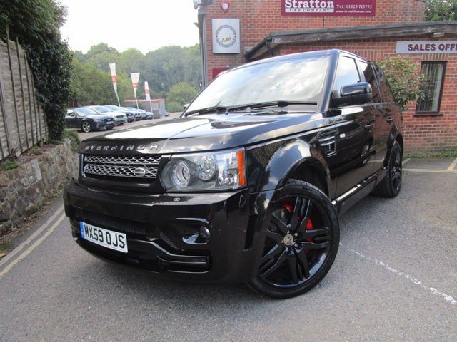 2009 59 LAND ROVER RANGE ROVER SPORT 5.0 V8 HSE 5d AUTO 510 BHP OVERFINCH