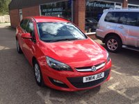 USED 2014 14 VAUXHALL ASTRA 1.6 DESIGN 5 DOOR ESTATE AUTOMATIC 115 BHP WITH ONLY 28000 MILES  APPROVED CARS ARE PLEASED TO OFFER THIS  VAUXHALL ASTRA 1.6 DESIGN 5 DOOR ESTATE AUTOMATIC 115 BHP WITH ONLY 28000 MILES IN GREAT CONDITION WITH A FULL SERVICE HISTORY  A VERY LOW MILEAGE RARE AUTOMATIC ESTATE CAR.