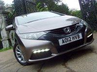2012 HONDA CIVIC 1.8 I-VTEC SE 5d 140 BHP £7999.00