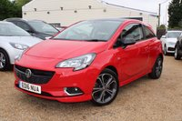 USED 2016 16 VAUXHALL CORSA 1.4 RED EDITION S/S 3d 148 BHP