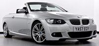 USED 2008 57 BMW 3 SERIES 3.0 330d M Sport 2dr Auto Pro Nav, Heated Seats, Xenons