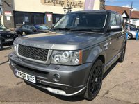 USED 2008 08 LAND ROVER RANGE ROVER SPORT 2.7 TDV6 SPORT HSE 5d AUTO 188 BHP OVERFINCH KIT