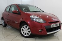 USED 2011 61 RENAULT CLIO 1.5 EXPRESSION DCI 3DR 88 BHP FULL SERVICE HISTORY + RADIO/CD + AUXILIARY PORT + ELECTRIC WINDOWS + 15 INCH ALLOY WHEELS