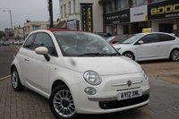 2012 FIAT 500 1.2 C LOUNGE 3d 69 BHP £SOLD