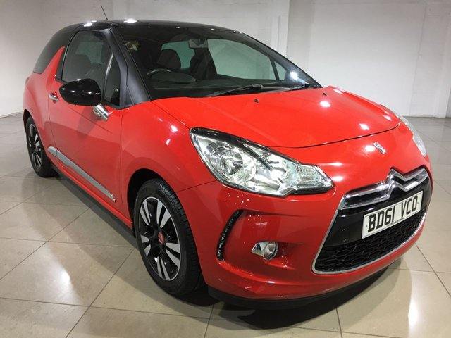 View our 2011 61 CITROEN DS3 1.6 DSTYLE 3d 120 BHP