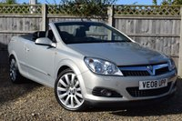 USED 2008 08 VAUXHALL ASTRA 1.9 TWIN TOP DESIGN 3d 150 BHP Free 12  month warranty