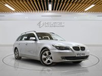USED 2008 57 BMW 5 SERIES 3.0 530D SE TOURING 5d AUTO 232 BHP + 2 PREV OWNERS + AIR CON + AUX + BLUETOOTH