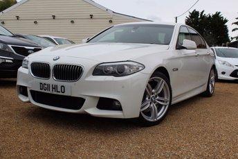 2011 BMW 5 SERIES 3.0 525D M SPORT 4d AUTO 202 BHP £16000.00