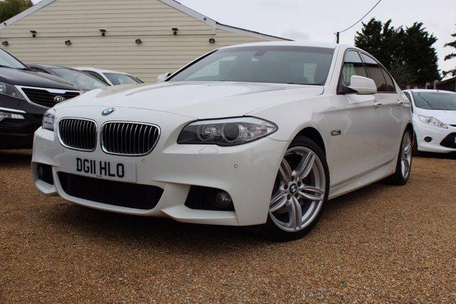 View our 2011 11 BMW 5 SERIES 3.0 525D M SPORT 4d AUTO 202 BHP