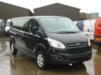 2015 FORD TRANSIT CUSTOM 2.2TDCi T290 LIMITED L2 H1 Double Cab 155 BHP £SOLD
