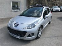 USED 2012 61 PEUGEOT 207 1.6 HDI SW ALLURE 5d 92 BHP IMMACULATE ** 48K MILES ONLY ** £20 A YEAR ROAD TAX **