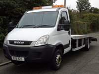 USED 2011 11 IVECO-FORD DAILY 70C17 3.0TD 170 BHP 7 TON BRAND NEW RECOVERY CAR TRANSPORT BRAND NEW RECOVERY BODY+1OWNER