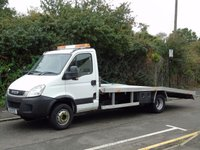 2011 IVECO-FORD DAILY 70C17 3.0TD 170 BHP 7 TON BRAND NEW RECOVERY CAR TRANSPORT £15995.00