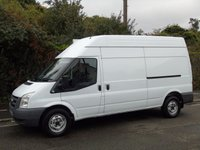 USED 2011 11 FORD TRANSIT T350 2.4TDCI 115BHP LWB HIGH ROOF CATERING/SERVING/SNACK/DISPLAY VAN ONLY 49K+240V HOOK UP+