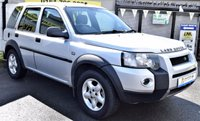 2004 LAND ROVER FREELANDER 2.0 TD4 SPORT STATION WAGON 5d 110 BHP £1950.00