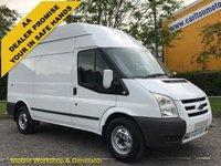 USED 2011 11 FORD TRANSIT 100 T350 MWB Hi/R [ Mobile Workshop+ Invertor ] Van Free Uk Delivery