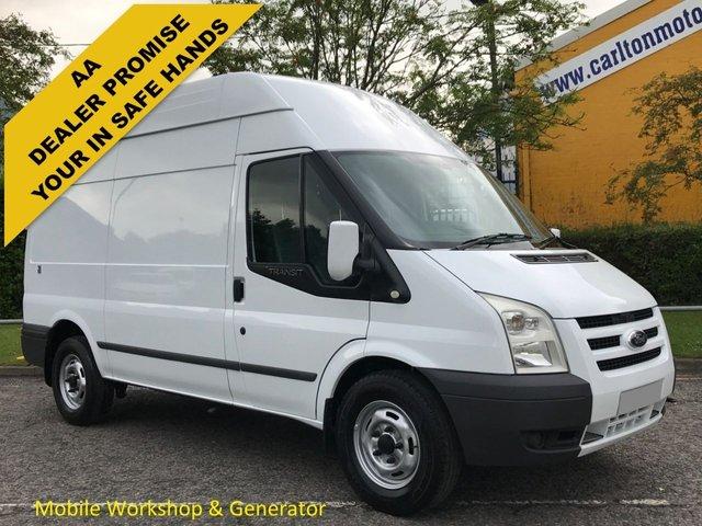2011 11 FORD TRANSIT 100 T350 MWB Hi/R [ Mobile Workshop+ Invertor ] Van Free Uk Delivery