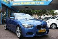 USED 2014 64 BMW 1 SERIES 1.6 116I M SPORT 3dr 135 BHP Excellent Finance Rates.... BUY from 4%