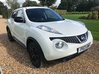USED 2013 13 NISSAN JUKE 1.5 TEKNA DCI 5d 110 BHP SATNAV, HEATED LEATHER, REVERSE CAMERA, BLUETOOTH