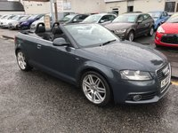 USED 2008 58 AUDI A3 1.9 TDI S LINE 2d 103 BHP PRICE INCLUDES A 6 MONTH AA WARRANTY DEALER CARE EXTENDED GUARANTEE, 1 YEARS MOT AND A OIL & FILTERS SERVICE. 12 MONTHS FREE BREAKDOWN COVER.