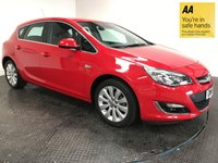 USED 2014 14 VAUXHALL ASTRA 1.6 ELITE 5d 113 BHP FSH-1 OWNER-LEATHER-ISOFIX-ALLOYS