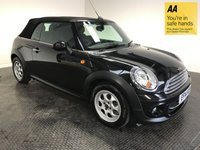 USED 2014 14 MINI CONVERTIBLE 1.6 COOPER 2d 122 BHP FSH-1 OWNER-BLUETOOTH-ISOFIX-ALLOYS