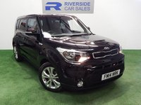 USED 2014 14 KIA SOUL 1.6 CRDI CONNECT PLUS 5d 126 BHP