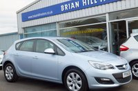 USED 2014 14 VAUXHALL ASTRA 1.6i DESIGN 5dr
