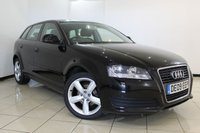 USED 2009 09 AUDI A3 1.6 SPORTBACK MPI TECHNIK 5DR 101 BHP FULL SERVICE HISTORY + PARKING SENSORS + AUXILIARY PORT + ELECTRIC MIRRORS + 17 INCH ALLOY WHEELS