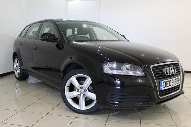 View our 2009 09 AUDI A3 1.6 SPORTBACK MPI TECHNIK 5DR 101 BHP