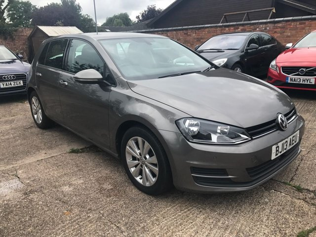 2013 13 VOLKSWAGEN GOLF 1.6 SE TDI BLUEMOTION TECHNOLOGY 5dr 103 BHP