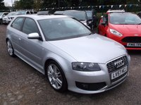 USED 2007 57 AUDI A3 2.0 S3 TFSI QUATTRO 3d 262 BHP 1 OWNER, FULL MAIN DEALER SERVICE HISTORY, STUNNING EXAMPLE THROUGHOUT, DRIVES SUPERBLY, GREAT FUN !!!!!