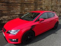 USED 2014 14 SEAT LEON 1.8 TSI FR TECHNOLOGY 5d 180 BHP