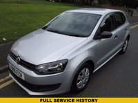 USED 2010 10 VOLKSWAGEN POLO 1.2 S A/C 5d 70 BHP FULL SERVICE HISTORY - 54,000 GUARANTEED MILES - EXCELLENT CONDITION