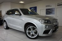 USED 2012 BMW X3 3.0 XDRIVE35D M SPORT 5d AUTO 309 BHP FFSH - RED Leather