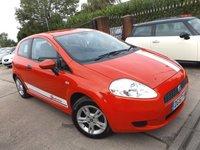 2007 FIAT GRANDE PUNTO 1.2 ACTIVE 8V 3d 65 BHP £2695.00