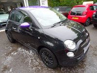 USED 2015 15 FIAT 500 1.2 POP 3d 69 BHP *BLAZE EDITION* Low Mileage, Full Service History + Just Serviced by ourselves, One Owner from new, MOT until April 2018, Great on fuel! Only £30 Road Tax!